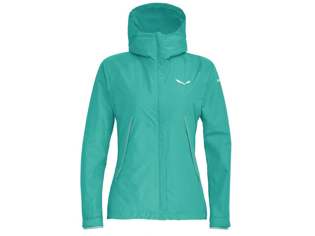 best website 291fe 8110d SALEWA Puez Powertex 2-Lagen Jacke Damen lagoon green melange
